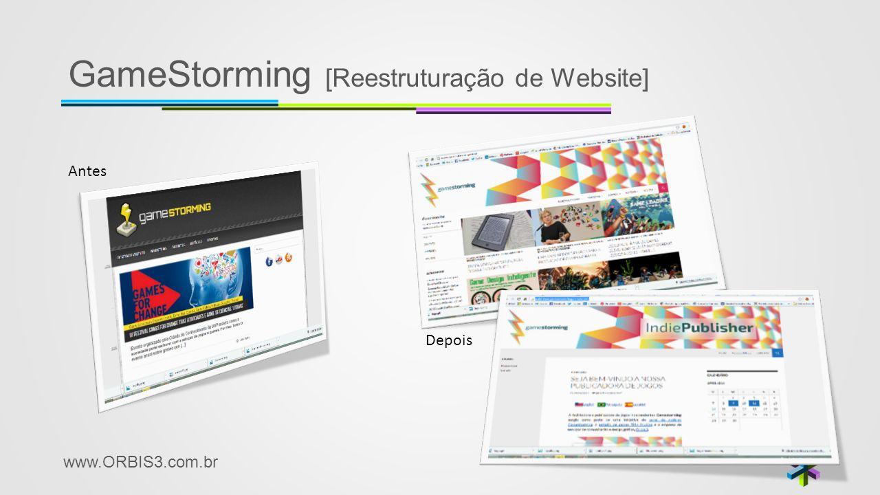 GameStorming [Reestruturação de Website]